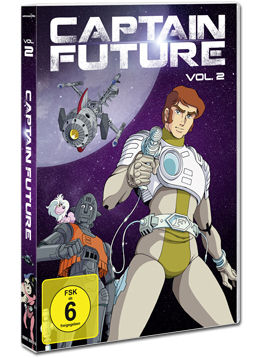 Captain Future Vol. 2 (2 DVDs)