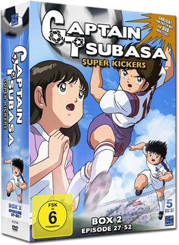 Captain Tsubasa: Super Kickers - Box 2 (5 DVDs)