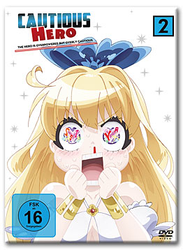 Cautious Hero: The Hero Is Overpowered But Overly Cautious Vol. 2 (2 DVDs)