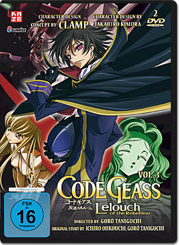 Code Geass: Lelouch of the Rebellion Vol. 3 (2 DVDs)