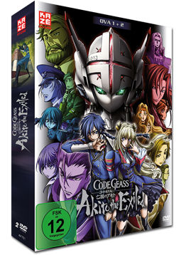 Code Geass: Akito the Exiled - Film 1+2 (2 DVDs)