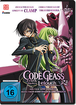 Code Geass: Lelouch of the Rebellion R2 Vol. 1 (2 DVDs)
