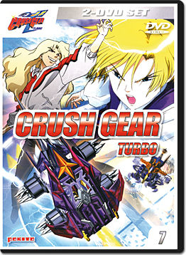 Crush Gear Turbo Vol. 7 (2 DVDs)