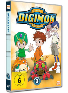 Digimon Digital Monsters Vol. 3 (3 DVDs)