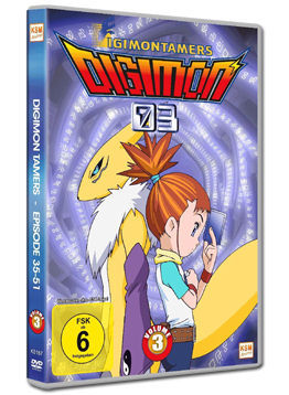 Digimon 03: Tamers Vol. 3 (3 DVDs)
