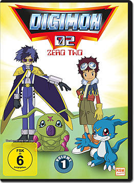 Digimon 02: Zero Two Vol. 1 (3 DVDs)