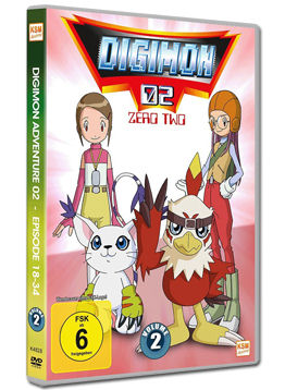 Digimon 02: Zero Two Vol. 2 (3 DVDs)