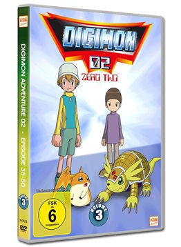 Digimon 02: Zero Two Vol. 3 (3 DVDs)