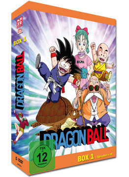 Dragonball: Die TV-Serie - Box 1 (5 DVDs)