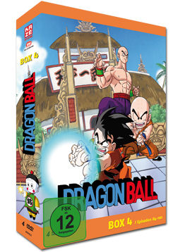 Dragonball: Die TV-Serie - Box 4 (4 DVDs)