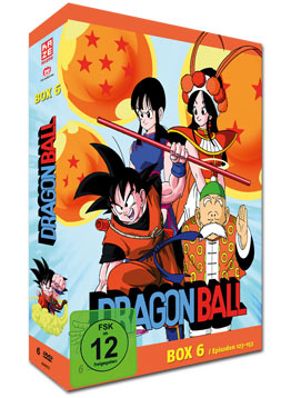 Dragonball: Die TV-Serie - Box 6 (6 DVDs)