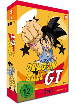 Dragonball GT Box 1 (4 DVDs)