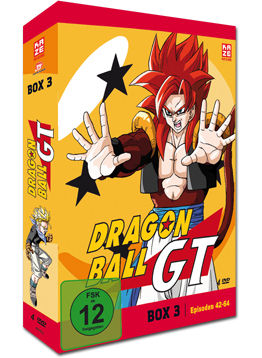 Dragonball GT Box 3 (4 DVDs)