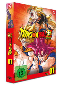 Dragonball Super Vol. 1 (3 DVDs)