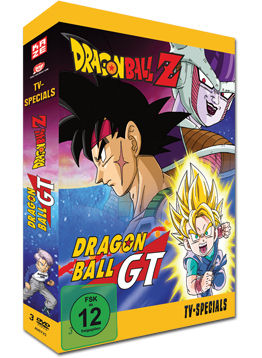 Dragonball Z + GT - TV-Specials Box (3 DVDs)