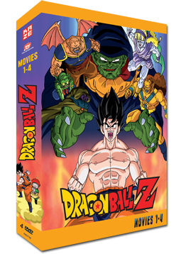 Dragonball Z - Movies 1-4 (4 DVDs)