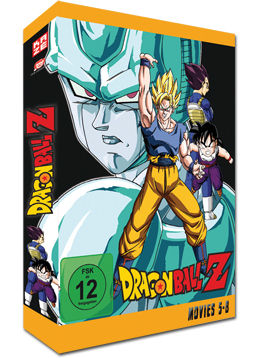 Dragonball Z - Movies 5-8 (4 DVDs)