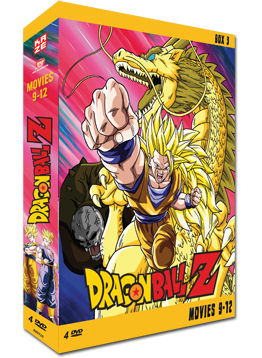 Dragonball Z - Movies 9-12 (5 DVDs)
