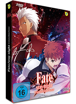 Fate/stay night: Unlimited Blade Works Vol. 4 (2 DVDs)