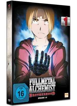 Fullmetal Alchemist: Brotherhood Vol. 1 (2 DVDs)