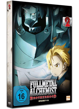 Fullmetal Alchemist: Brotherhood Vol. 2 (2 DVDs)