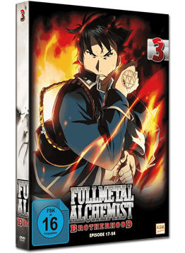 Fullmetal Alchemist: Brotherhood Vol. 3 (2 DVDs)