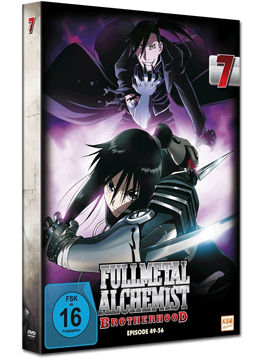 Fullmetal Alchemist: Brotherhood Vol. 7 (2 DVDs)