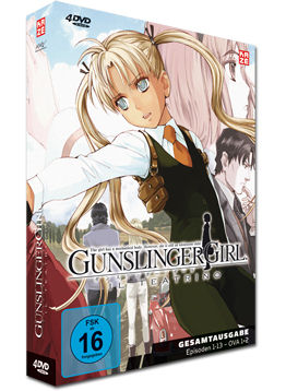 Gunslinger Girl: Il Teatrino - Slimpack Box (4 DVDs)
