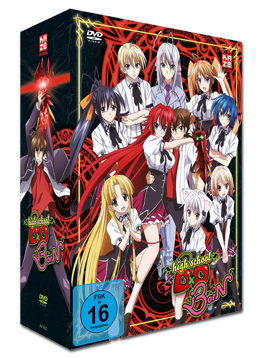 HighSchool DxD BorN Vol. 1 - Limited Edition (inkl. Schuber)