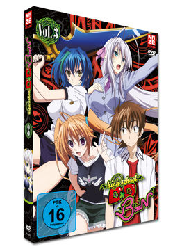 HighSchool DxD BorN Vol. 3