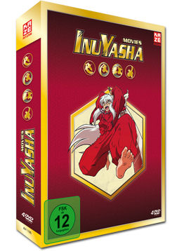 InuYasha - Movies Box (4 DVDs)