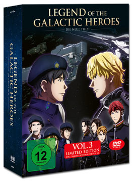 Legend of the Galactic Heroes: Die neue These Vol. 3 - Limited Edition (inkl. Schuber)