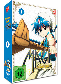 Magi: The Kingdom of Magic - Box 1 (2 DVDs)