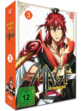Magi: The Kingdom of Magic - Box 3 (2 DVDs)