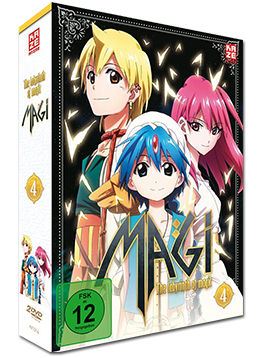 Magi: The Labyrinth of Magic - Box 4 (2 DVDs)