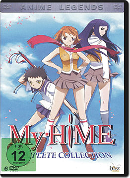 My-Hime Complete Collection (6 DVDs)