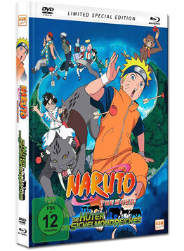 Naruto the Movie 3: Die Hüter des Sichelmondreiches - Limited Special Edition (2 Discs)