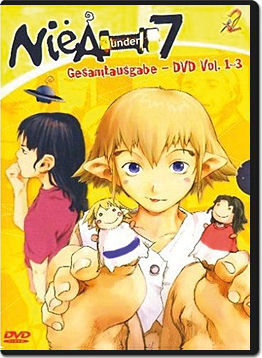 NieA under 7 Box (3 DVDs)