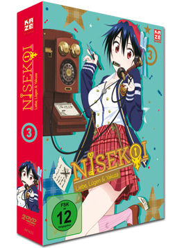 Nisekoi Vol. 3 (2 DVDs)