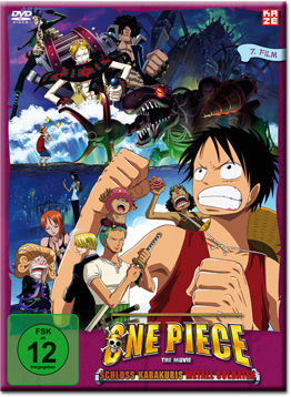 One Piece: Der 07. Film - Schloss Karakuris Metall-Soldaten