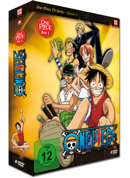 One Piece: Die TV-Serie - Box 1 (6 DVDs)