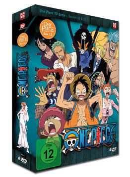 One Piece: Die TV-Serie - Box 12 (6 DVDs)