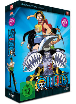 One Piece: Die TV-Serie - Box 2 (6 DVDs)
