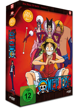 One Piece: Die TV-Serie - Box 07 (6 DVDs)