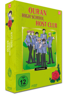 Ouran High School Host Club - Gesamtausgabe (6 DVDs)