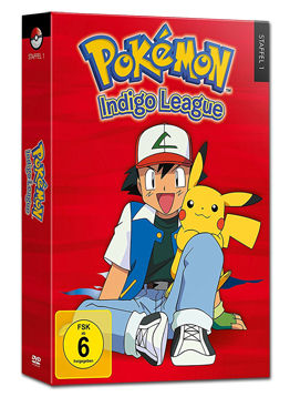Pokémon: Staffel 1 Box - Indigo League (6 DVDs)