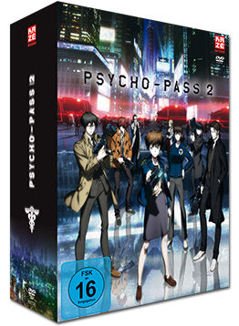 Psycho-Pass II Vol. 1 - Limited Edition (2 DVDs, inkl. Schuber)