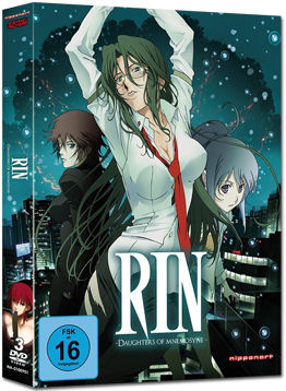 RIN: Daughters of Mnemosyne (3 DVDs)