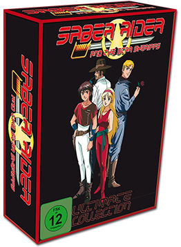Saber Rider and The Star Sheriffs - Ultimate Collection (10 DVDs)
