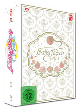 Sailor Moon Crystal Vol. 3 - Limited Edition (2 DVDs, inkl. Schuber)